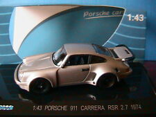 PORSCHE 911 CARRERA RS 2.7 1973 GREY KDW 711 COLLECTION 1/43 DIE CAST MODEL
