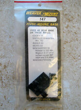 New Weaver Winchester Ruger Enfield Sears Cooey Rifle Pivot Scope Rear Base 147