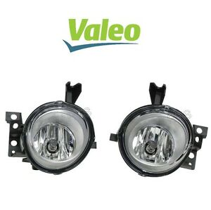 For Porsche Cayenne Pair Set of Front Left & Right Fog Lights Valeo OEM