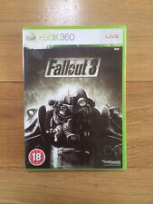 Fallout 3 for Xbox 360 *No Manual*