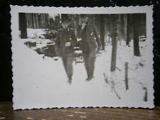 Photo argentique guerre 39 45 soldat Allemand wehrmacht WWII 2  Isba Russie