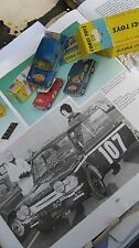 CORGI 328 HILLMAN RALLY IMP 1966-67 ORIGINAL GOOD RARE CAR IN GOOD ORIGINAL BOX