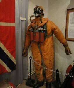 Soviet Russian Diving Suit Drysuit SGP + foot weights