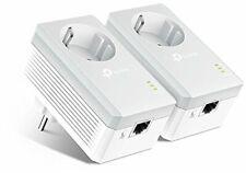 TP-Link TL-PA4010PKIT - PLC 2   (Con enchufe adicional, AV 600Mbps + 1 Puerto)