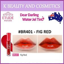 [Etude House] Dear Darling Water Gel Tint (#BR401 FIG RED) *NEW 2017* 4.5g