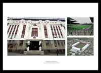 Highbury Stadium  - Historic Arsenal FC Photo Montage Memorabilia (ARSH1C)
