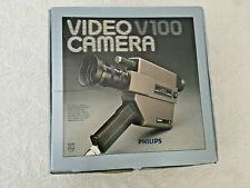 Philips Video Camera V100. Classic Rare Collectible