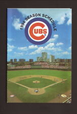 Chicago Cubs--Wrigley Field--1994 Pocket Schedule--Berghoff Beer
