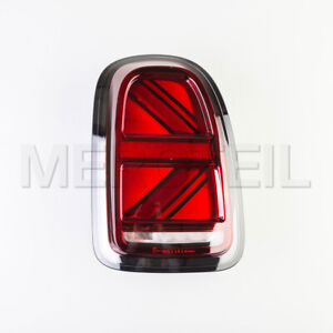Genuine Union Jack Blackline LED Tail Light MINI Countryman F60 Cooper S D JCW