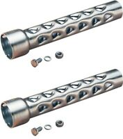 """1-3/4"""" Baffle Pipe SET for Harley Drag Pipes & Custom Application SOLD IN PAIR"""