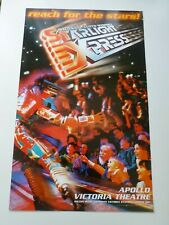 More details for starlight express reach for the stars london theatre poster andrew lloyd webber