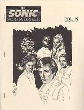 "Multi-Media Fanzine ""The Sonic Screwdriver 2, 3, 6"" GEN Blake's 7, Dr Who +"