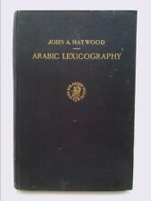 Arabic lexicography: its history, and its place in the general...  (1st Ed)