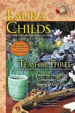 A Tea Shop Mystery Ser.: Tea for Three by Laura Childs (2013, Trade Paperback)