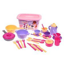 Puppengeschirr Küchenset 30 teile