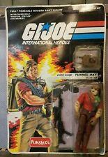 GI JOE ~ 1987 TUNNEL RAT ~ FUNSKOOL VARIANT ~ MINT ON CARD & 100% COMPLETE