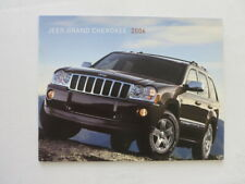2006 Jeep Grand Cherokee Sales Brochure Laredo Limited Overland SRT8