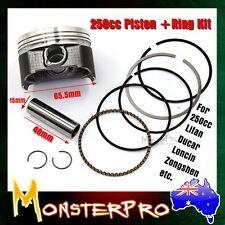 ZONGSHEN LONCIN CB 250cc Piston & Rings 65.5mm Pit Dirt bike hummer atomik quad