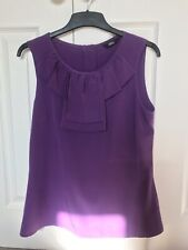 Purple Blouse, Marks & Spencers Size 12