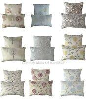 "Luxury Sofa Cushion Covers,2 Sizes 17""x 17"" And 16"" x 23"" Large Boudoir Cushions"