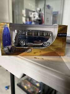 Jada V-Dubs VW Kombi Van Chrome Limited Edition Sealed In Original Box