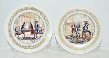 (2) Darceau Limoges Lafayette Legacy Plates, 1973, Rare Collectibles