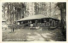 1915-30 Print Postcard; Club House, Big Tree Grove near Santa Cruz Ca Unposted