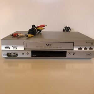 NEC VH-605 VCR VHS Player Recorder NO Remote - Tested & Working! Free Postage