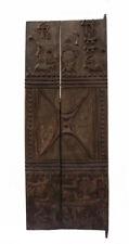 Porte de grenier Baoulé 166 x 64 cm art africain 757