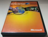 Microsoft Encarta 2005 Encyclopedia - French Version Encarta Encyclopedie