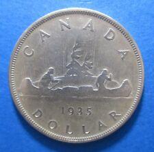 CANADA DOLLAR 1935 GEORGE V SILVER KM 30 #8016#