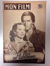 MON FILM N°378 1953 LE FILS DE GERONIMO / CHARLTON HESTON - SUSAN MORROW