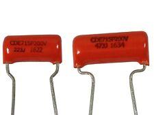 Orange drop capacitor 0.022uf / 0.047uf
