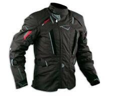 Motorbike Motorcycle Waterproof CE Armours Textile Touring Tex Jacket  Black L
