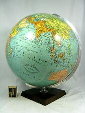 Beau, âgées Columbus Erdglobus/Earth Globe GERMANY pour 1950 40 cm
