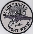 USAF air force 163d Fighter Squadron F-16 Fort Wayne IAP Indiana patchAir Force - 48823