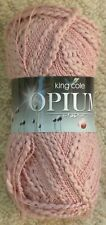 Clearance King Cole Opium 100gm Balls 6 Colours 242 Pink