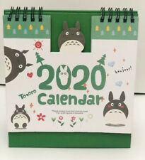 Totoro My Neighbour Studio Ghibli 2020 Desktop calendar Office Planner Christmas