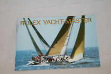 Rolex Yacht-master 1992 Booklet Owners Manual Book English 600.06