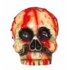 Bloody Crâne Bougie Décoration de Fête Halloween Accessoire
