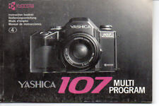Yashica 107 Multi Program Instruction Manual