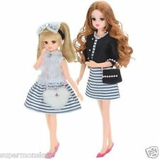 TAKARA TOMY JAPAN LICCA DOLL MOTHER AND DAUGHTER SHOPPING CLOTHES SET_ LA83418