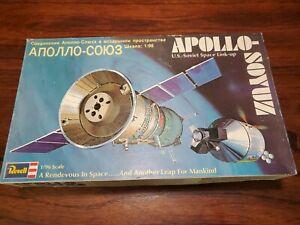 Revell Apollo Soyuz U.S. Soviet Space Link-up 1/96 PLASTIC MODEL KIT