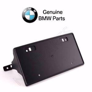 For BMW E31 850Ci 840Ci Front License Plate Holder Bracket Genuine 51111970901