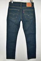 Levi's 511 Slim Fit Skinny Stretch Jeans Mens Size 31x32 Blue Meas. 30x30.5