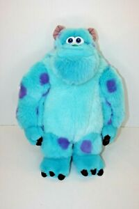 Disney Store  Monsters Inc Sully Plush Large Soft Toy Teddy 15 In