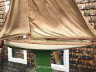 antique sailboat model