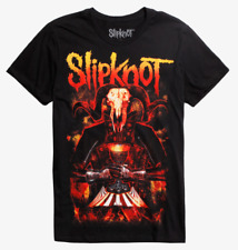 Slipknot GOAT LORD CIRCUS T-Shirt NEW Licensed & Official FRONT & BACK DESIGN