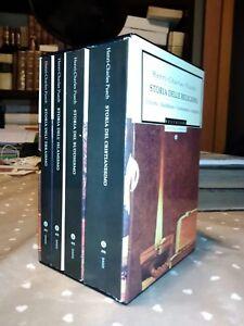 Henri-Charles Puech Storia delle religioni Oscar Mondadori 1997 4 voll