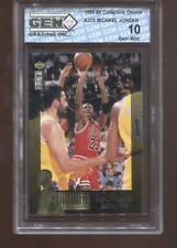 Michael Jordan 1995-96 UD Collectors Choice #JC9 Chicago Bulls GEM MINT 10